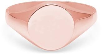 Myia Bonner 9K Rose Gold Round Signet Ring