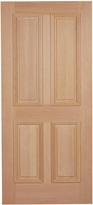 Rejuvenation Peterson Prehung Exterior Door