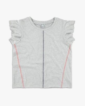 Splendid Girl Short Sleeve Ruffle Top