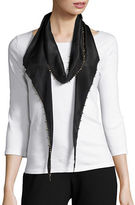 Eileen Fisher Studded Silk Scarf