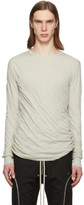Rick Owens Off-White Double Long Sleeve T-Shirt