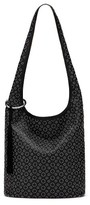 Elizabeth and James Finley Courier Leather Hobo - Black