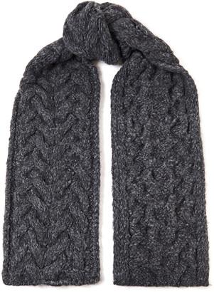 IRO Melange Cable-knit Scarf