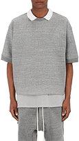 Fear Of God Men's Oversized Cotton-Blend Polo Shirt