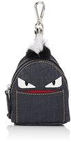 Fendi Men's Buggies Backpack Bag Charm-NAVY