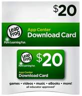 Leapster LeapFrog App Center Download Card (works with LeapPad tablets, LeapTV, LeapsterGS, Explorer and LeapReader)