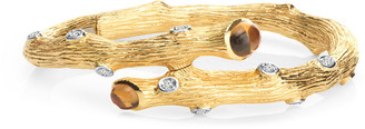 Michael Aram Enchanted Forest 18K 0.31 Ct. Tw. Diamond & Citrine Bracelet