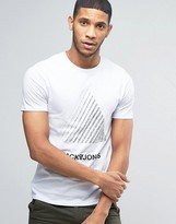 Jack and Jones T-Shirt with Gradient Triangle
