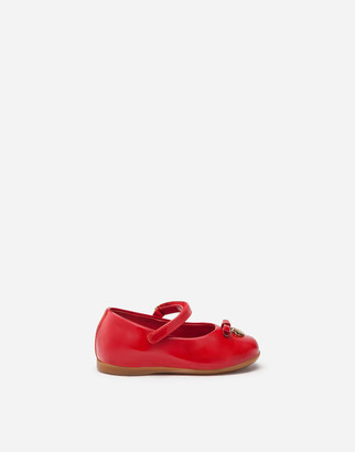 Dolce & Gabbana Painted Mary Jane Ballet Shoe