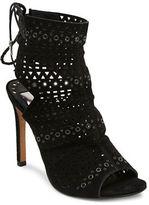 Dolce Vita Harmon Suede Stiletto Heel Sandals