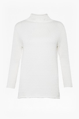 French Connection Molly Mozart Knit High Neck Jumper