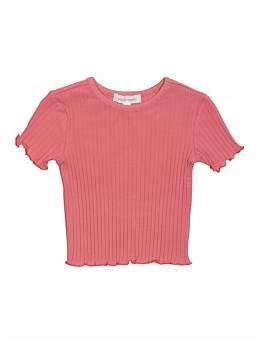 David Jones Porcia Rib T-Shirt (Girls 3-7)