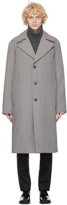 Maison Margiela Grey Classic Trench Coat