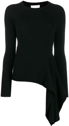 3.1 Phillip Lim draped knitted jumper
