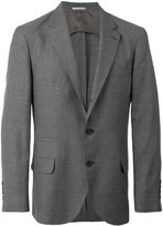 Brunello Cucinelli classic blazer - men - Silk/Linen/Flax/Cupro/Wool - 48