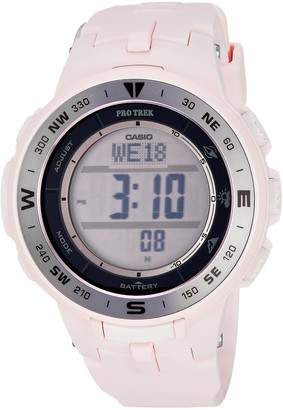 Casio Women's Pro Trek Quartz Watch with Resin Strap