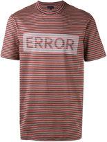 Lanvin striped panel T-shirt - men - Cotton - S
