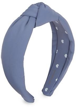 Lele Sadoughi Neoprene Knot Headband