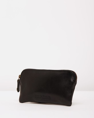 Stitch & Hide - Women's Black Purses - Lucy Classic Collection Coin Pouch - Size One Size at The Iconic