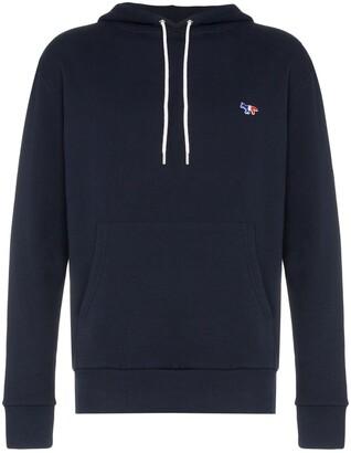 MAISON KITSUNÉ Hooded cotton sweatshirt