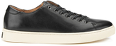 Polo Ralph Lauren Men's Jermain Leather Trainers Black