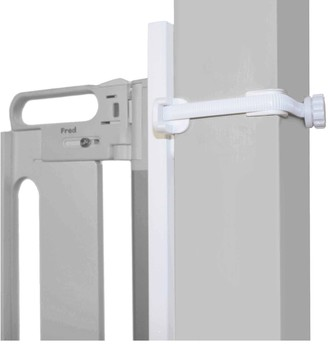 Fred Universal Stairpost Fitting Kit, White