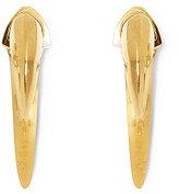 Vince Camuto Small Horn Hoop Earrings