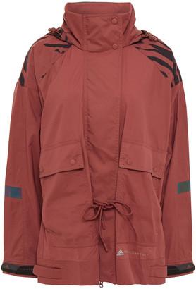adidas by Stella McCartney Printed Shell Hooded Jacket