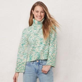 Lauren Conrad Women's Bell Sleeve Turtleneck Sweater