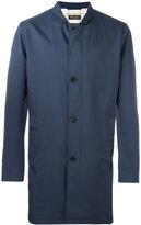 Loro Piana classic midi coat - men - Polyamide/Polyester - S