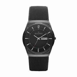 Skagen Men's Aktiv Titanium Analog-Quartz Watch with Stainless-Steel Strap