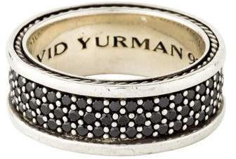 David Yurman Black Diamond Streamline Band