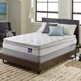 Serta Extravagant Pillowtop Twin XL-size Mattress Set