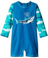 Hatley Toothy Shark Rashguard Boy's Swimwear