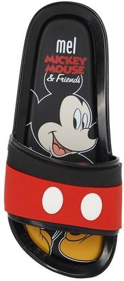 Mini Melissa Mickey Mouse Rubber Slide Sandals