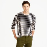 J.Crew Lightweight Italian cashmere crewneck sweater in nautical stripe