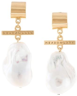 MEADOWLARK Fob drop earrings