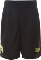 Marcelo Burlon County of Milan Vallegrande logo-print shorts