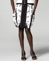 Graffiti Cotton Skirt