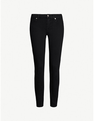 7 For All Mankind Skinny Crop skinny mid-rise jeans