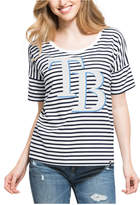 '47 Women's Tampa Bay Rays Coed Stripe T-Shirt