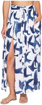 Mara Hoffman Birds Slit Front Skirt Women's Skirt
