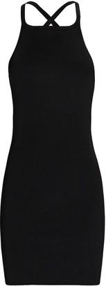 SIR the Label Ingrid Rib Knit Mini Dress