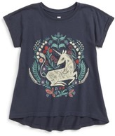 Tea Collection Toddler Girl's Unicorn Graphic Top