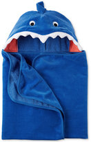 Carter's Hooded Cotton Shark Towel, Baby Boys (0-24 months)