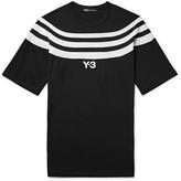 Y-3 Slim-Fit Striped Cotton-Jersey T-Shirt