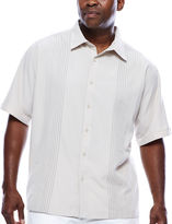 HAVANERA The Havanera Co. Short-Sleeve Ombre EmbroideredShirt - Big & Tall