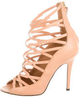 Isabel Marant Leather Cage Pumps