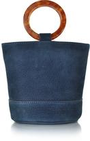 Simon Miller S801 Smoke Blue Nubuck Bonsai Bag