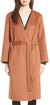 Vince Women's Reversible Wool & Cashmere Belted Coat
